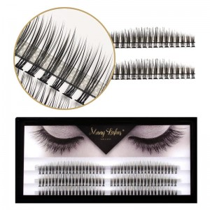 Rzęsy kępki ManyLashes Full Set | C - CC - D